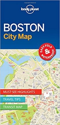 Lonely Planet Boston City Map 1.