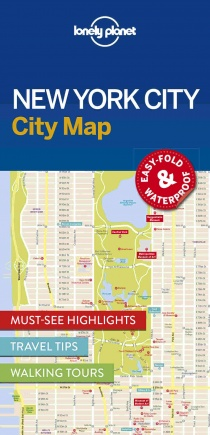 Lonely Planet New York City Map 1.