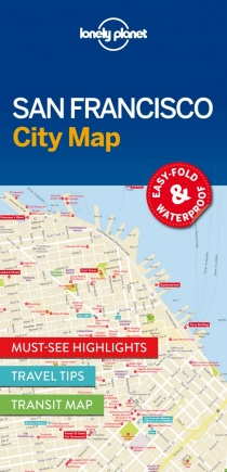 Lonely Planet San Francisco City Map 1.