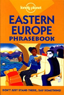 Lonely Planet Eastern Europe phrasebook 3.