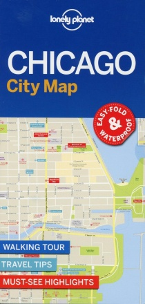 Lonely Planet Chicago City Map 1.
