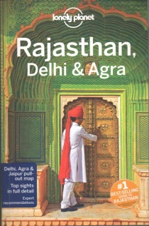 Rajasthan Delhi & Agra / průvodce Lonely Planet (anglicky)