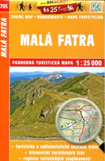 705 Malá Fatra  / Turistická mapa SHOCart