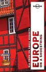 Europe on Shoestring / průvodce Lonely Planet (anglicky)