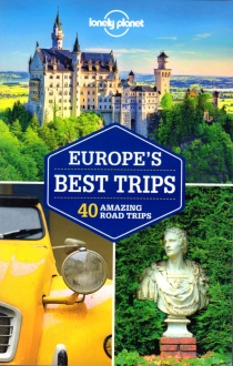 Europe's Best Trips / průvodce Lonely Planet (anglicky)
